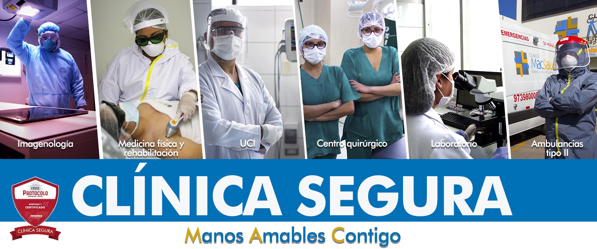 macsalud clinica segura servicios
